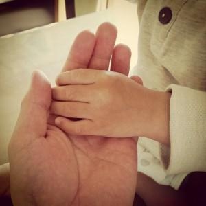 手が持つ癒しの力